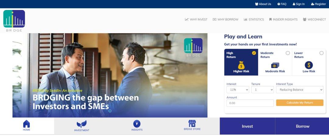 Brdge Top Robo-Advisory Platforms in Singapore