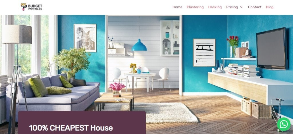 Budget Painting Top House Painting Services in Singapore