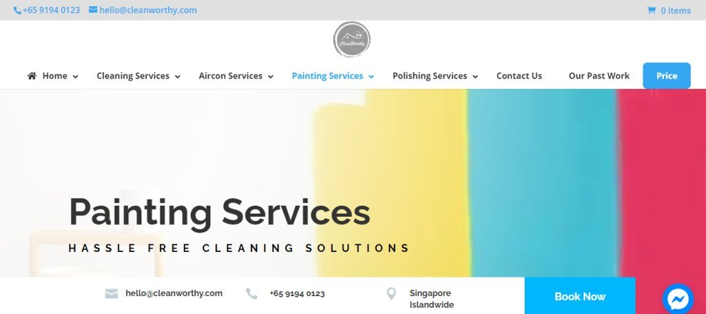 Clean Worthy Top House Painting Services in Singapore