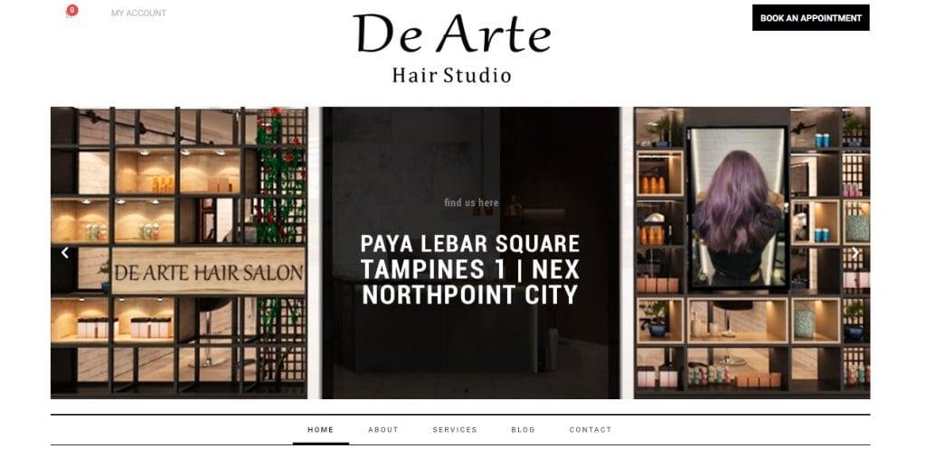 De Arte Salon Top Soft Rebonding Salons in Singapore