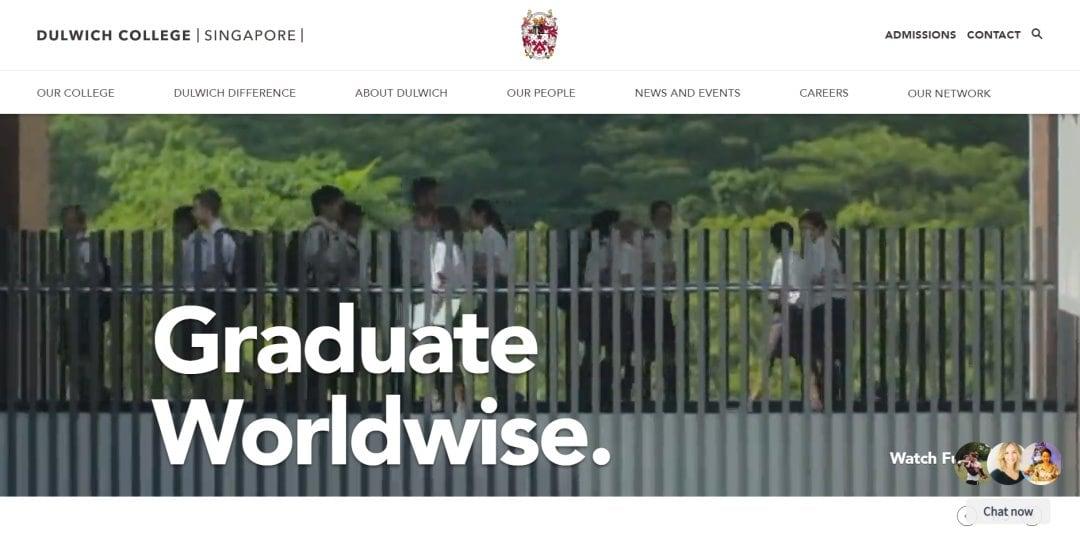 Dulwich Top International Schools in Singapore