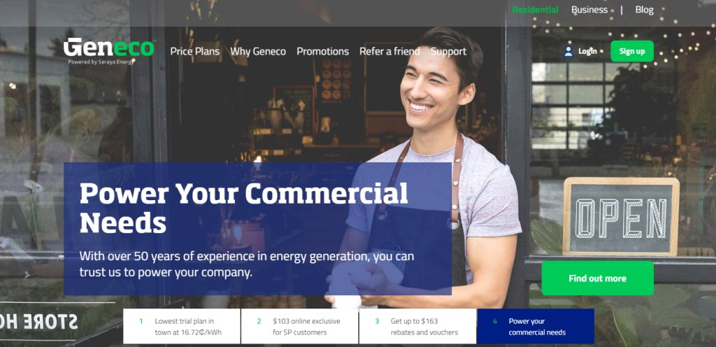 Geneco Top Electricity Suppliers in Singapore