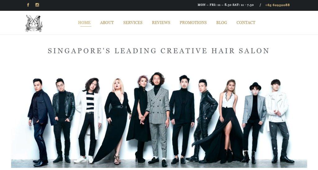 Hairloom Top Soft Rebonding Salons in Singapore