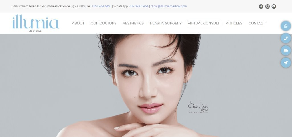Illumia Top Double Eyelid Surgery Clinics in Singapore