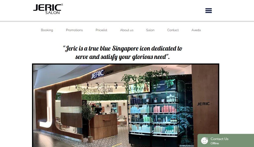 Jeric Salon Top Soft Rebonding Salons in Singapore