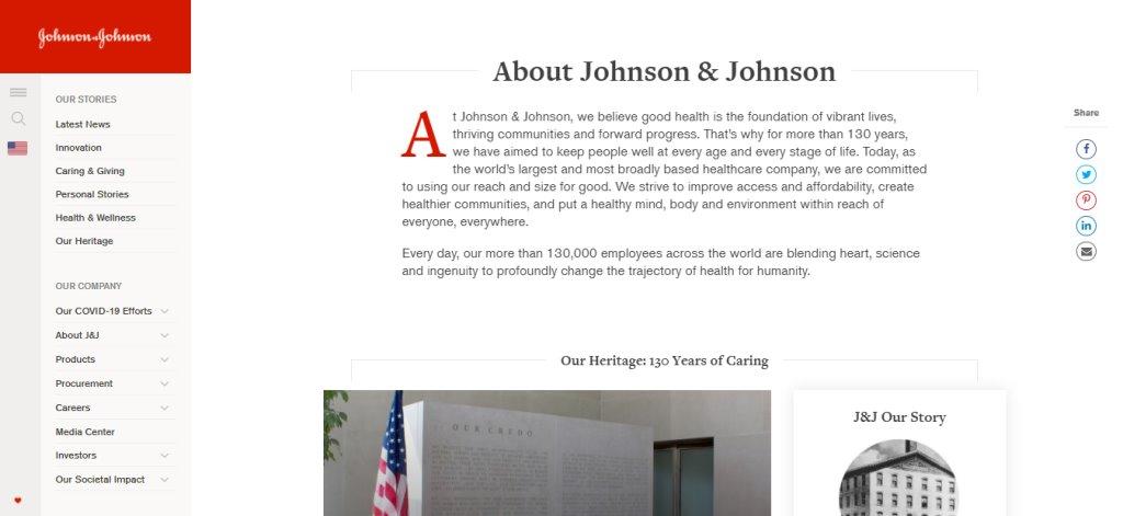 Johnson&Johnson Top Biotechnology Companies in Singapore