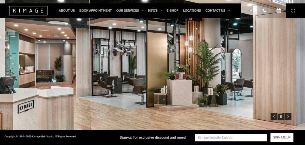 Kimage Top Soft Rebonding Salons in Singapore