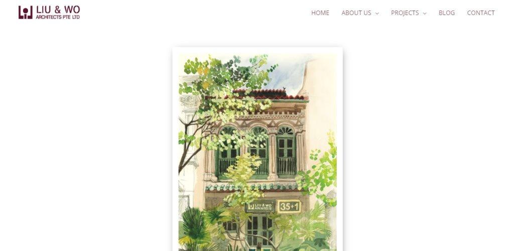 Liu Wo Top Architecture Firms in Singapore