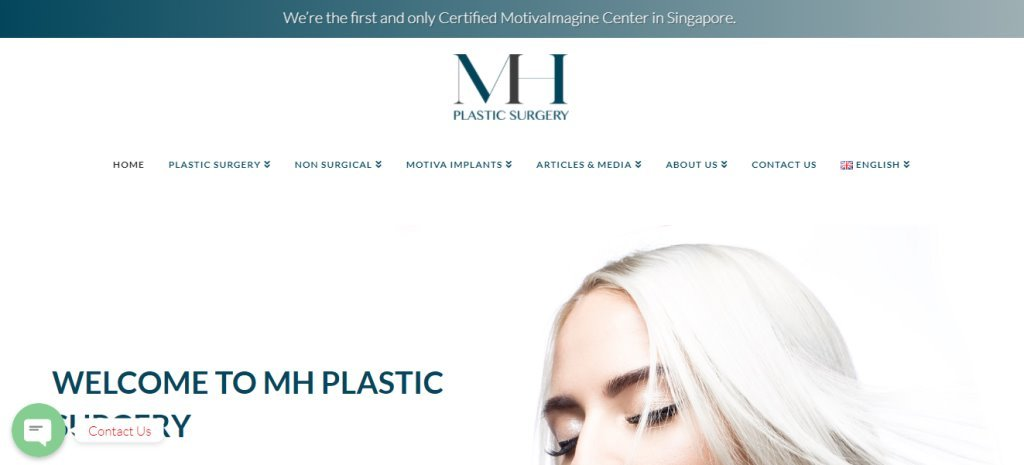 MH Plastic Surgery Top Double Eyelid Surgery Clinics in Singapore