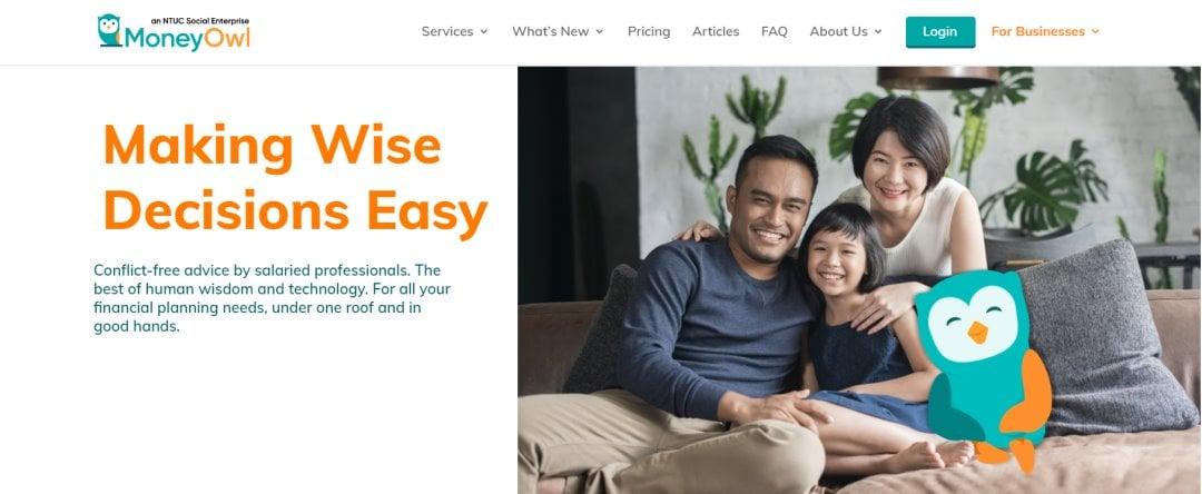 MOney Owl Top Robo-Advisory Platforms in Singapore