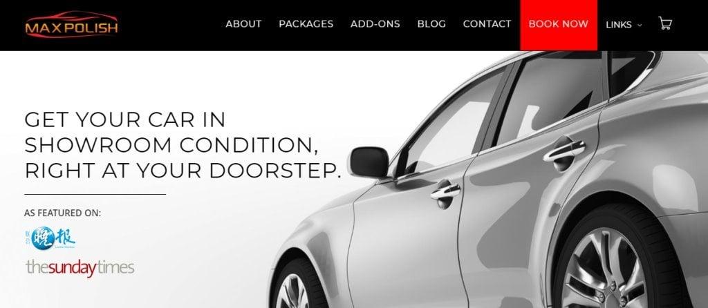 Max Polish Top Car Polishing Services in Singapore