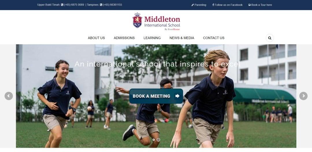 Middleton Top International Schools in Singapore