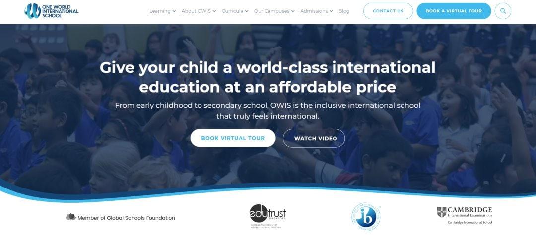 OWIS Top International Schools in Singapore