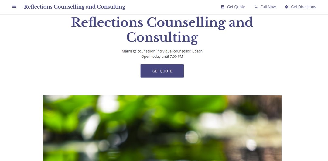 Reflection Counselling Top Marriage Counselling Services in Singapore