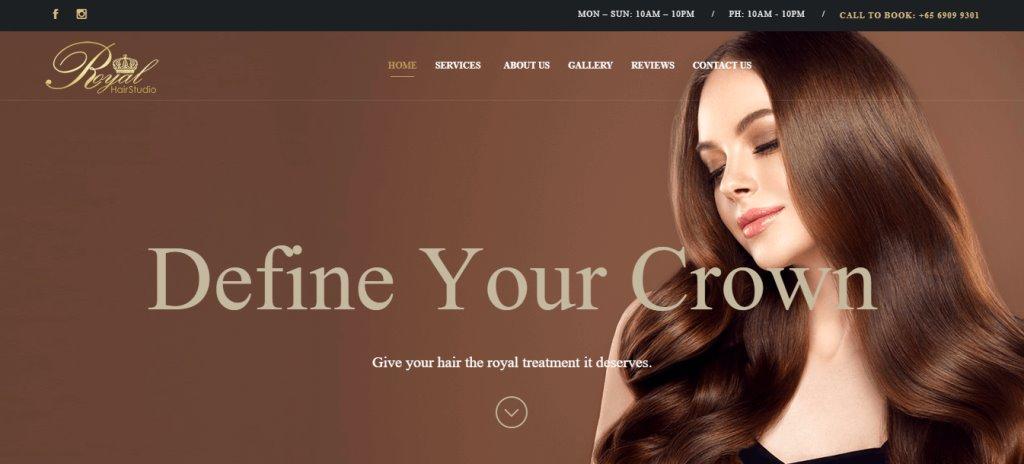Royal Studio Top Soft Rebonding Salons in Singapore