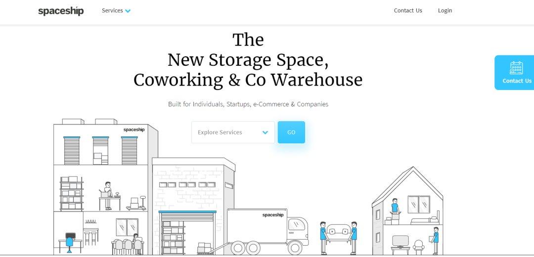 Spaceship Top Storage Space Rental in Singapore