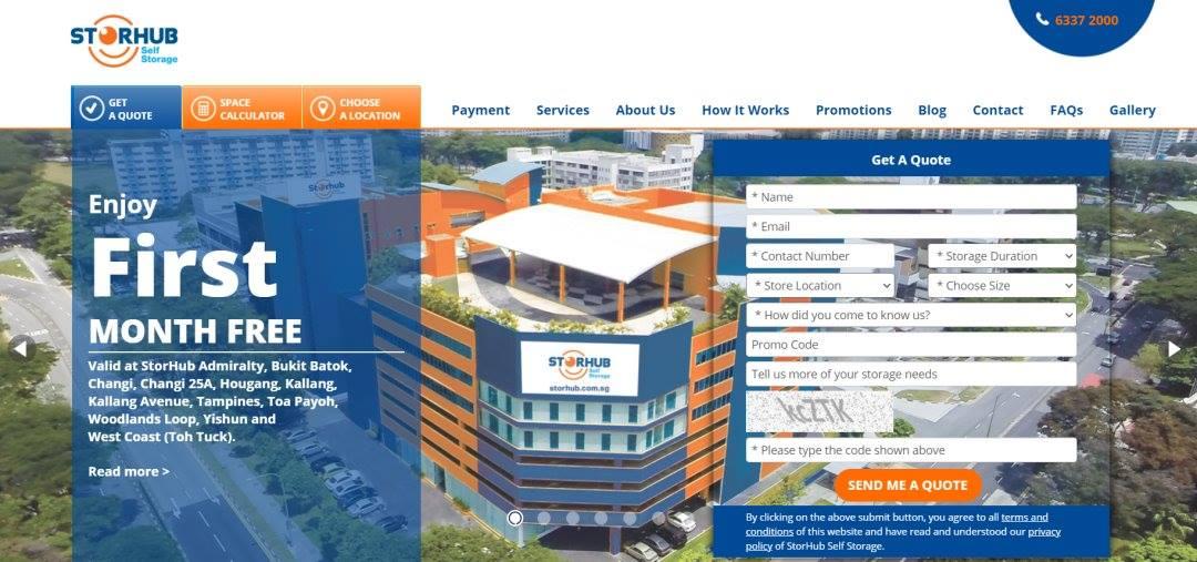 Storhub Top Storage Space Rental in Singapore