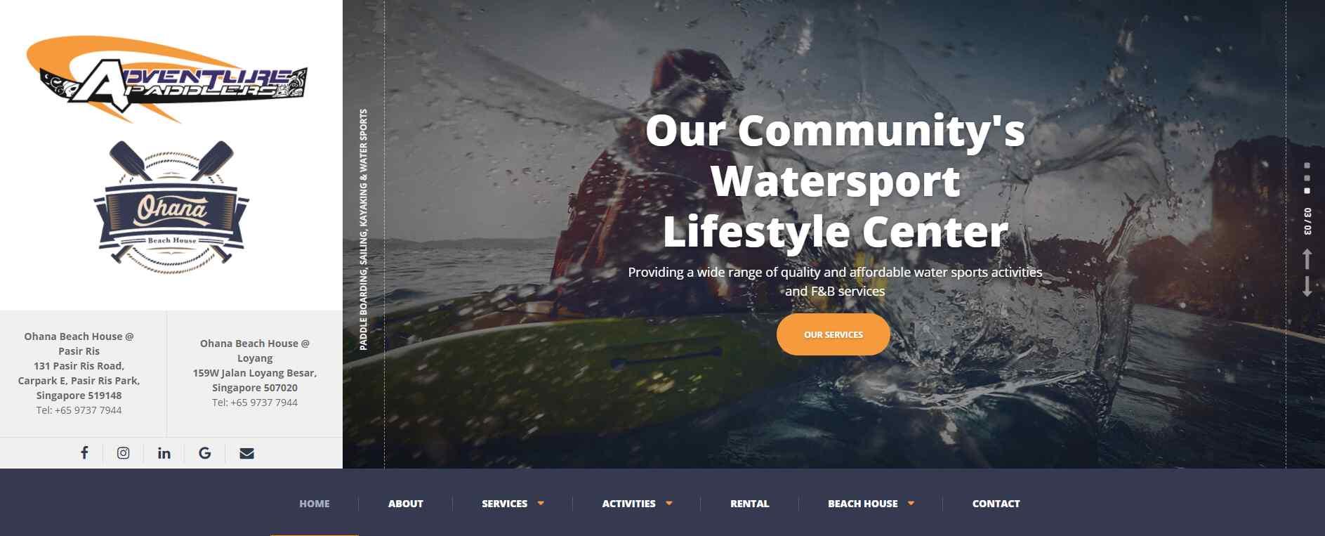 adventure paddlers Top Kayaking Activities in Singapore