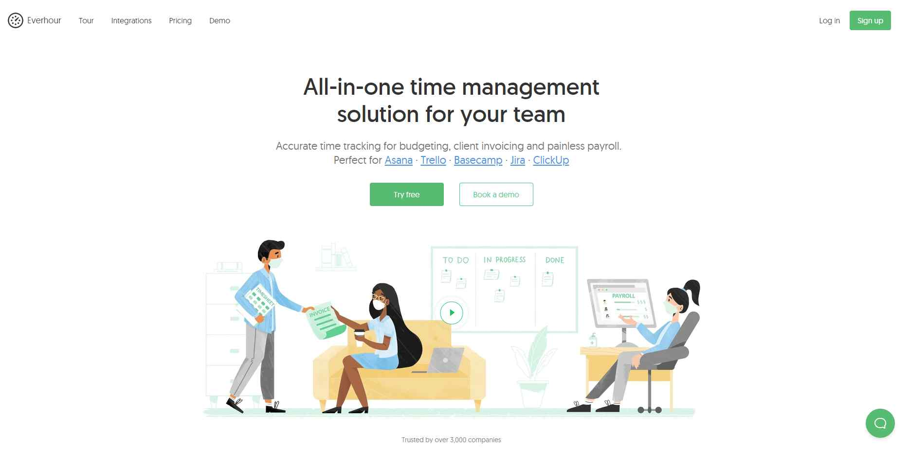 everhour The Top 27 Productivity Tools For Small Businesses