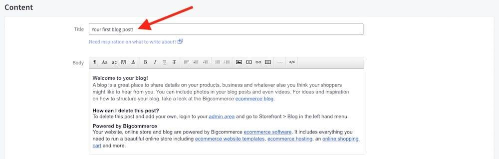 Guide to BigCommerce SEO 2