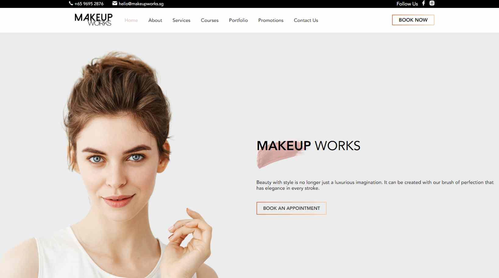 makeup works Top Makeup Artists in Singapore