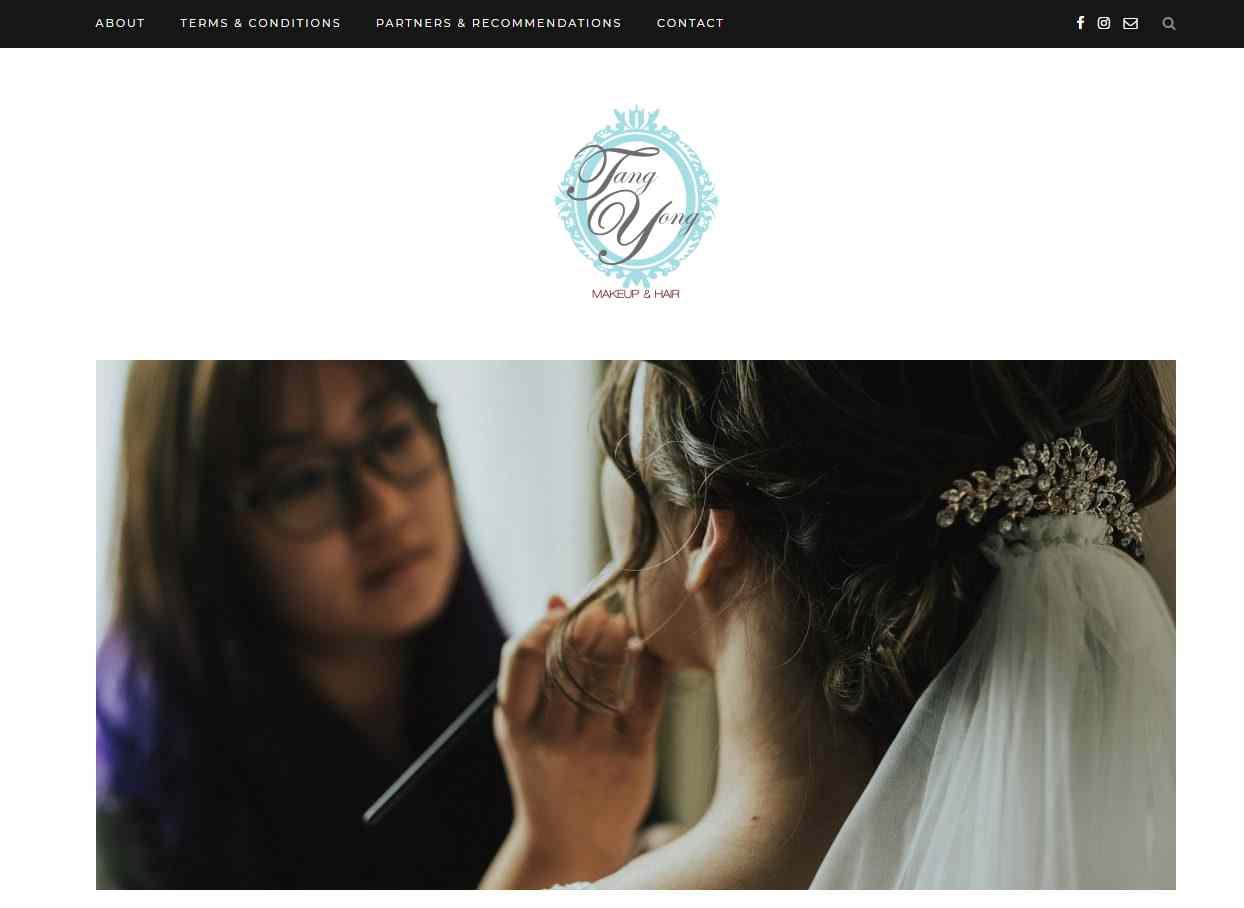 tangyong makeup Top Makeup Artists in Singapore