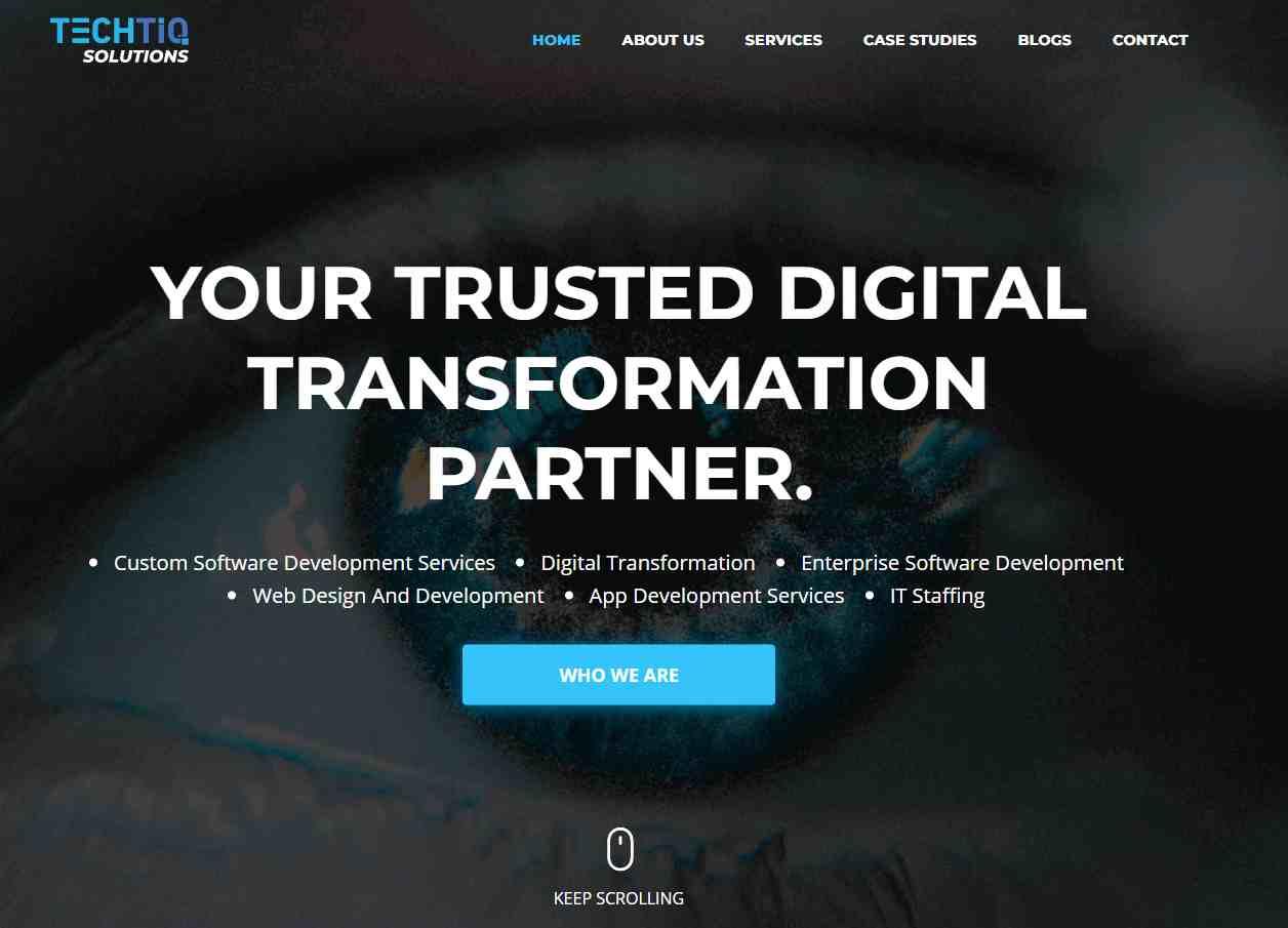texh IQ Solutions Top Digitalization Service Providers in Singapore