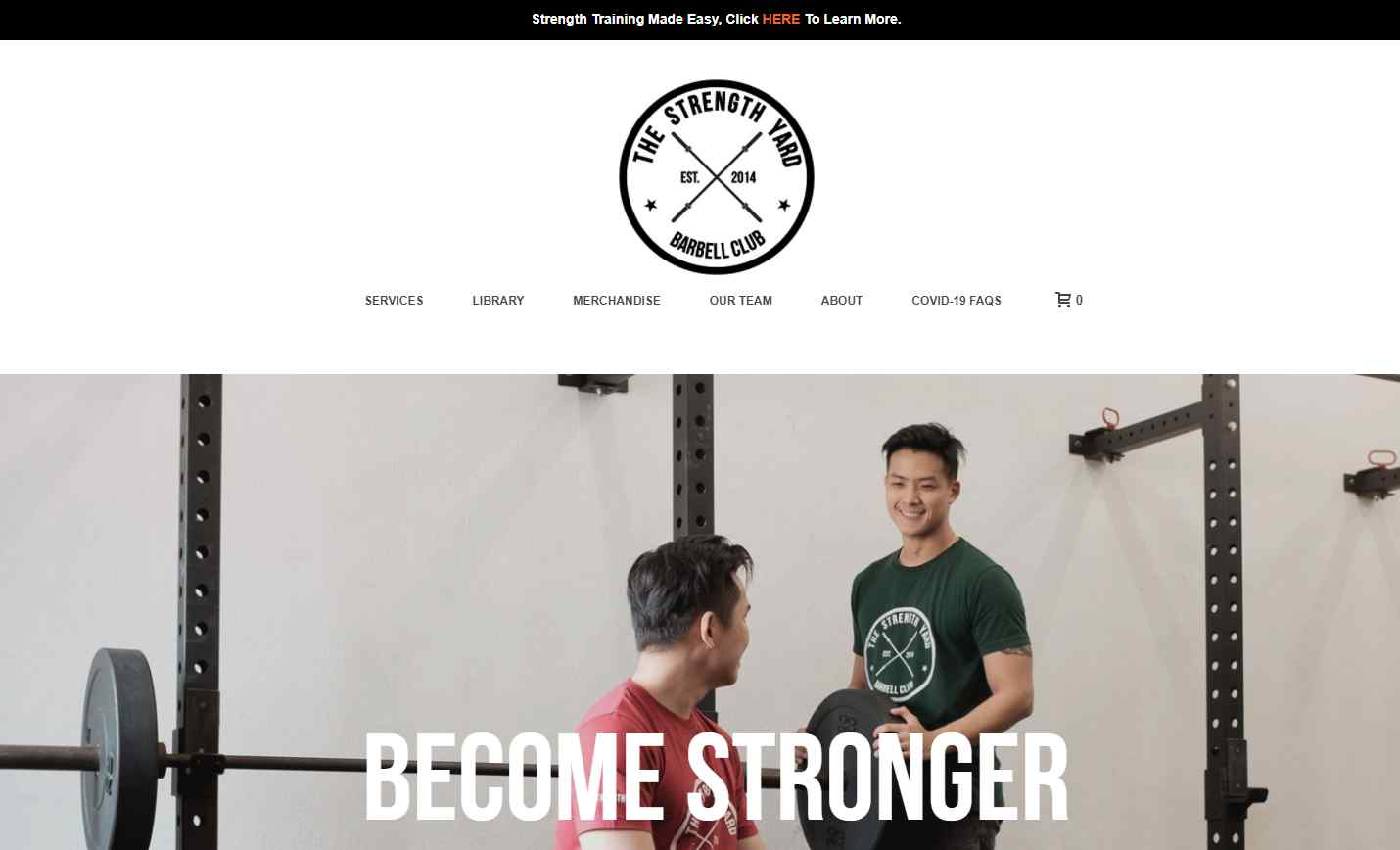 the strength yard Top Weight Lifting Gyms in Singapore