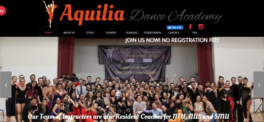 Aquilia Top Samba Dance Studios in Singapore