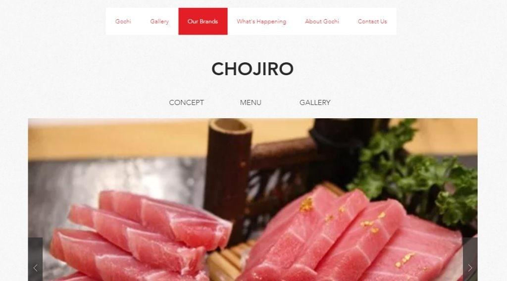 Chojiro Top Sushi Restaurants in Singapore