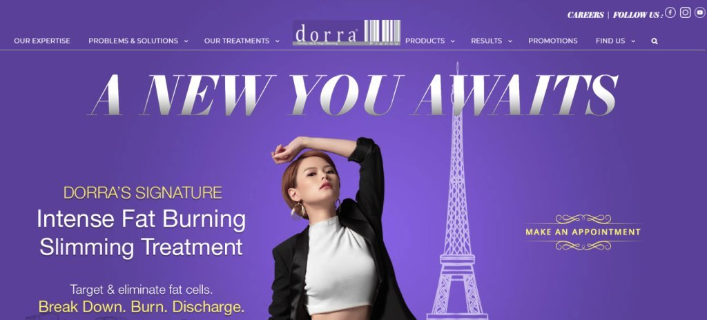 Dorra Slim Top Detox Service Providers in Singapore
