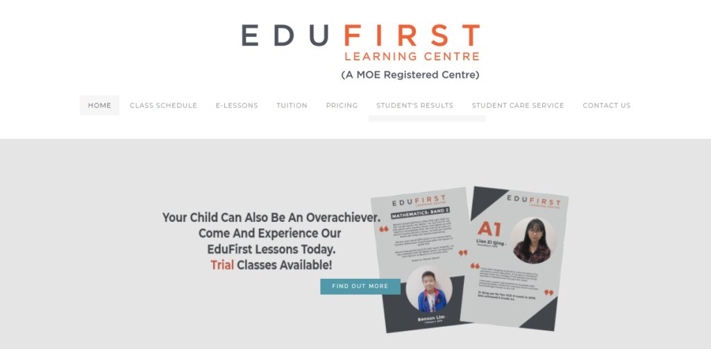 Edu First Top Student Care Services in Singapore