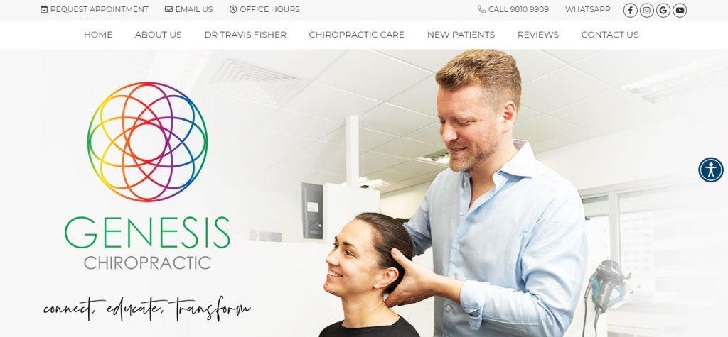 Genesis Chiropractic Top Pain Specialists in Singapore