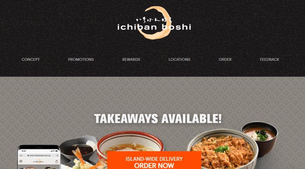 Ichiban boshi Top Sushi Restaurants in Singapore