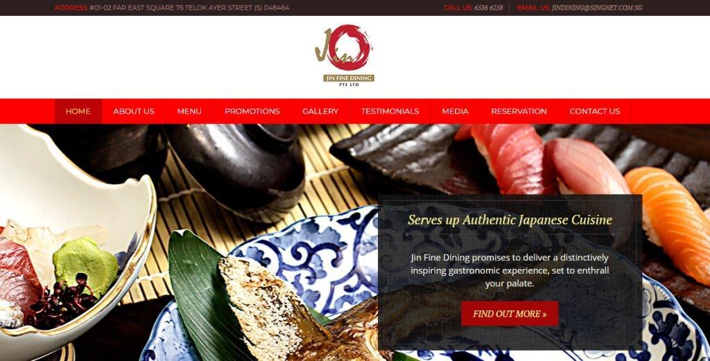Jin Top Sushi Restaurants in Singapore