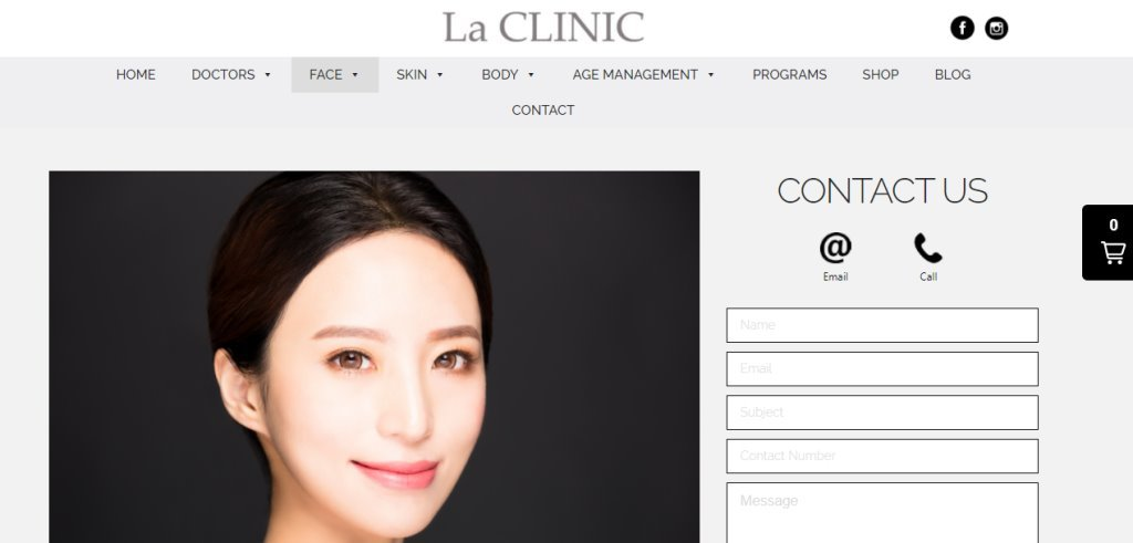 LA Clinic Top Lip Fillers Clinics in Singapore