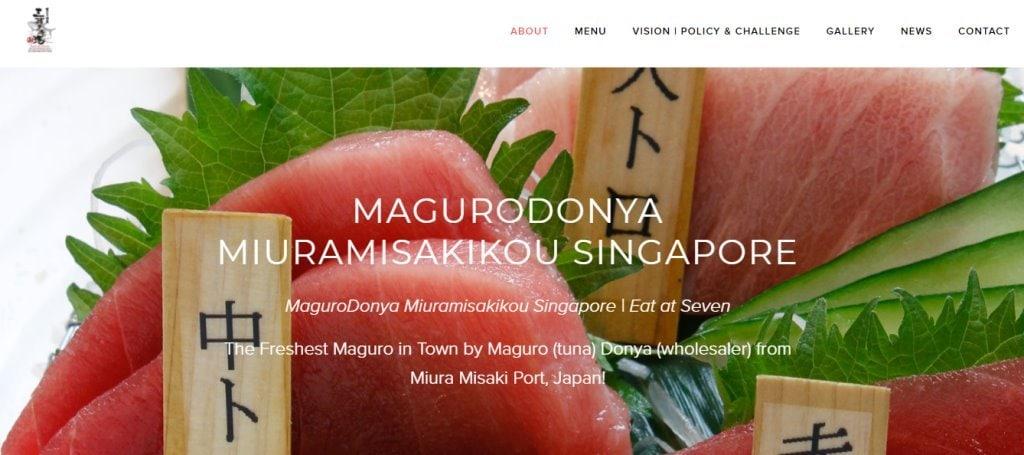Magurodonya Top Sushi Restaurants in Singapore