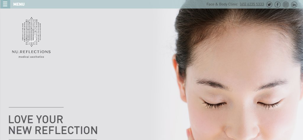 NU Reflections Top Lip Fillers Clinics in Singapore