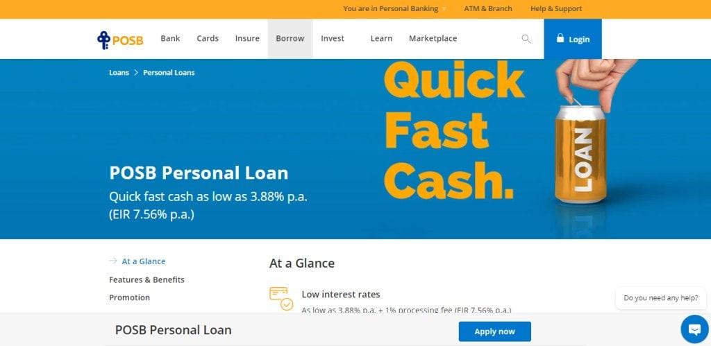 POSB Top Wedding Loan Providers in Singapore
