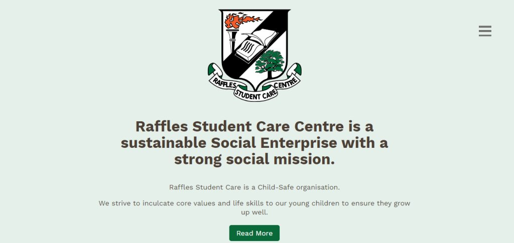 Raffles Student Top Student Care Services in Singapore