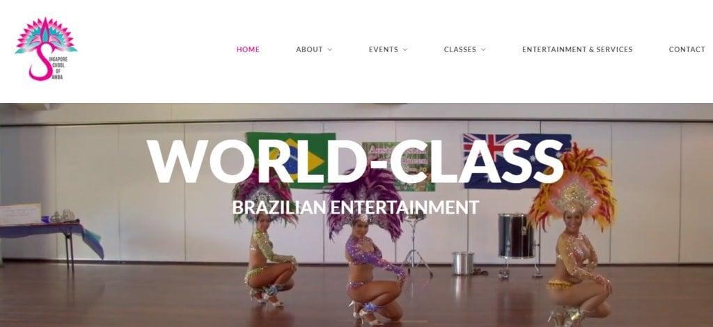 SG School of Samba Top Samba Dance Studios in Singapore