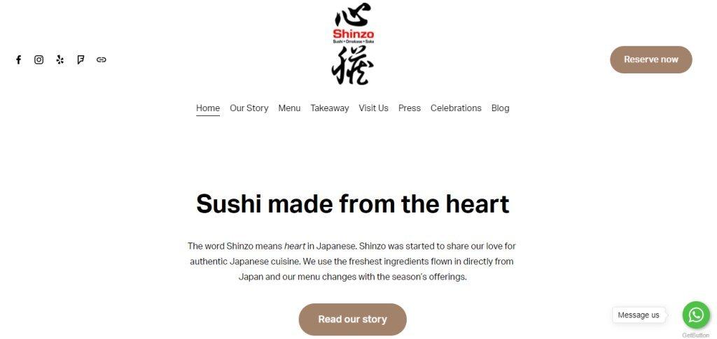 Shinzo Top Omakase Restaurants in Singapore