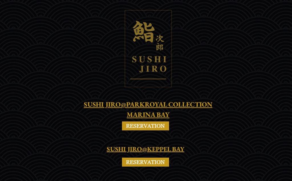 Sushijiro Top Omakase Restaurants in Singapore