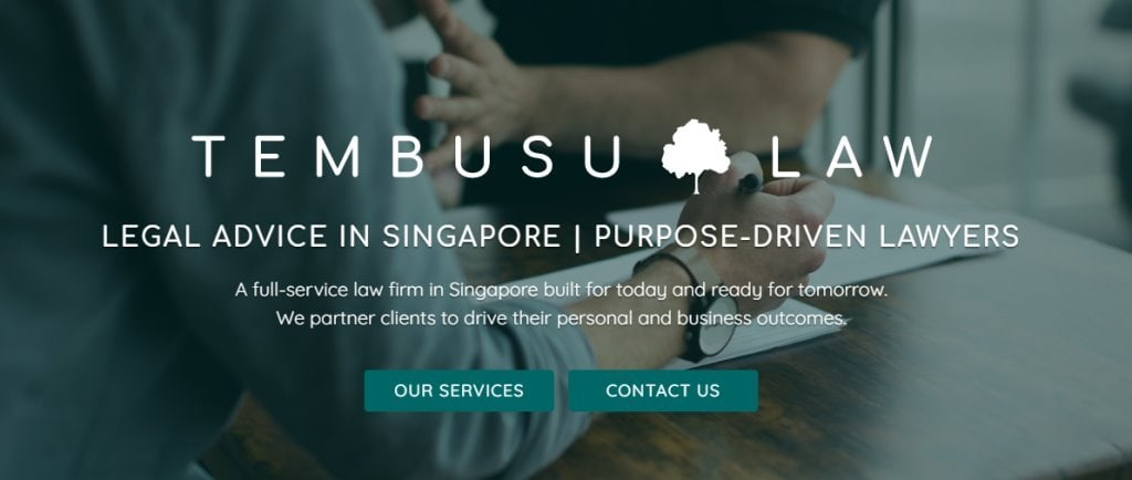 Tembusu Law Top Criminal Lawyers in Singapore