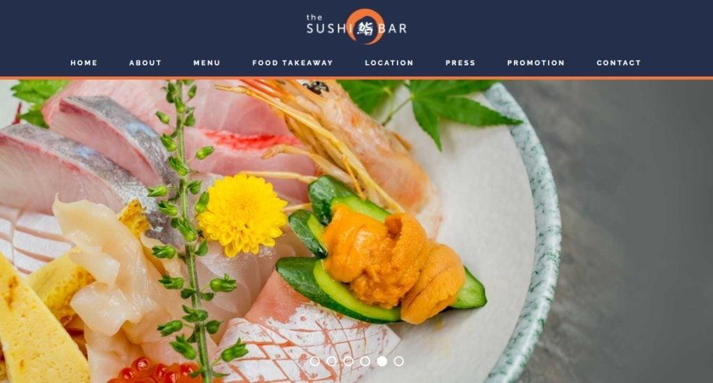 The Sushi Bar Top Sushi Restaurants in Singapore