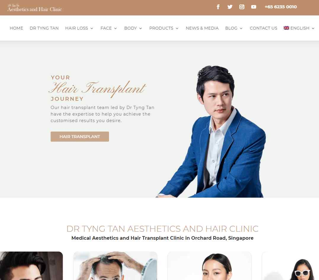 aesthetics and hair Top Trichologists in Singapore