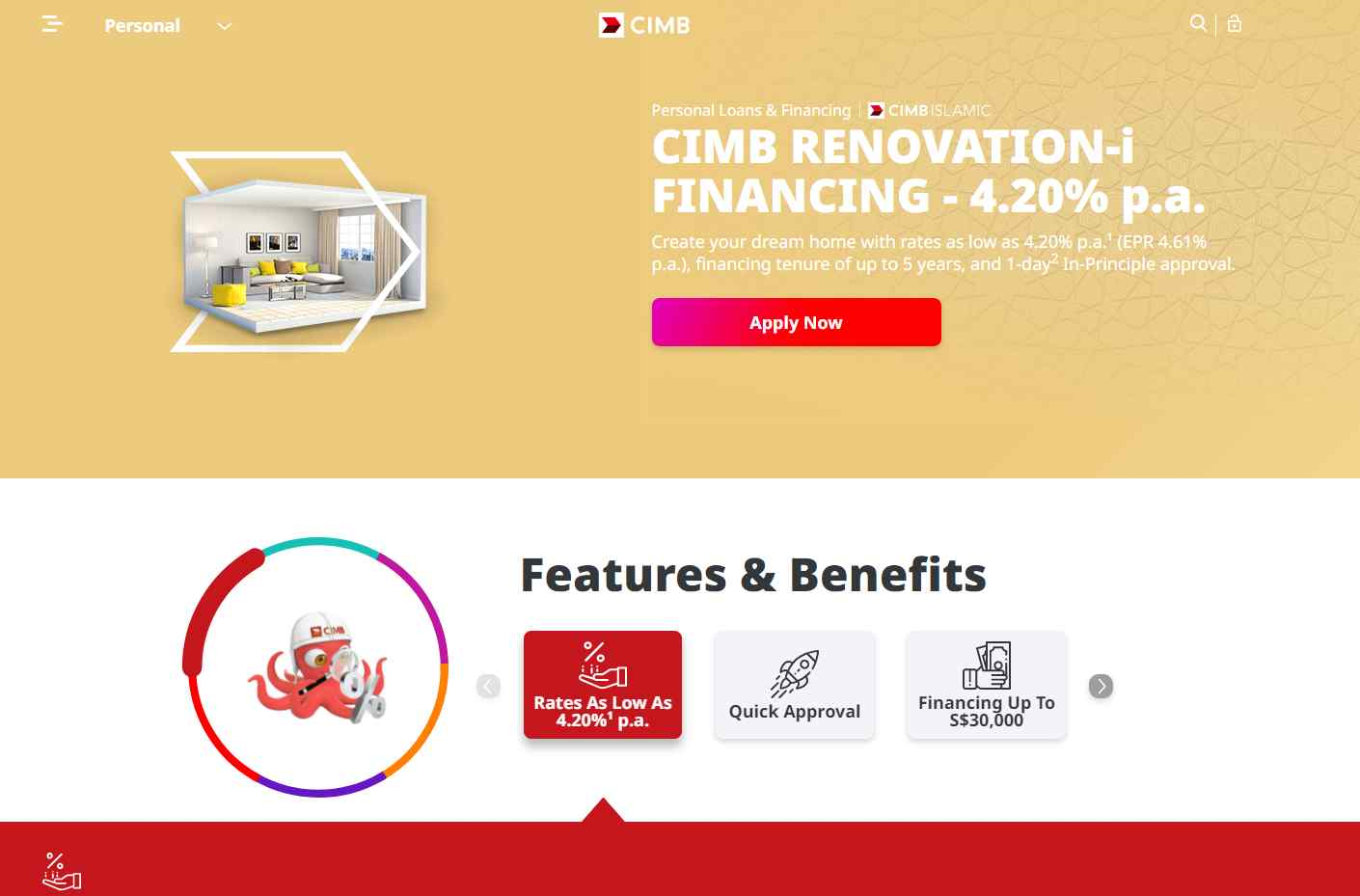 cimb Top Renovation Loan Providers in Singapore