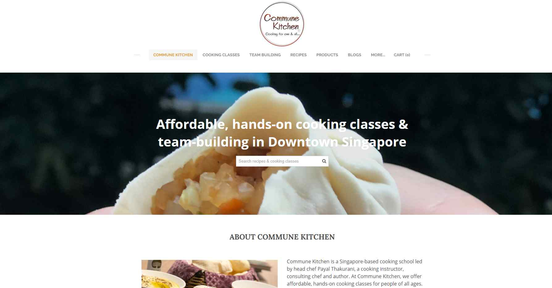 commune kitchen Top Culinary Schools in Singapore