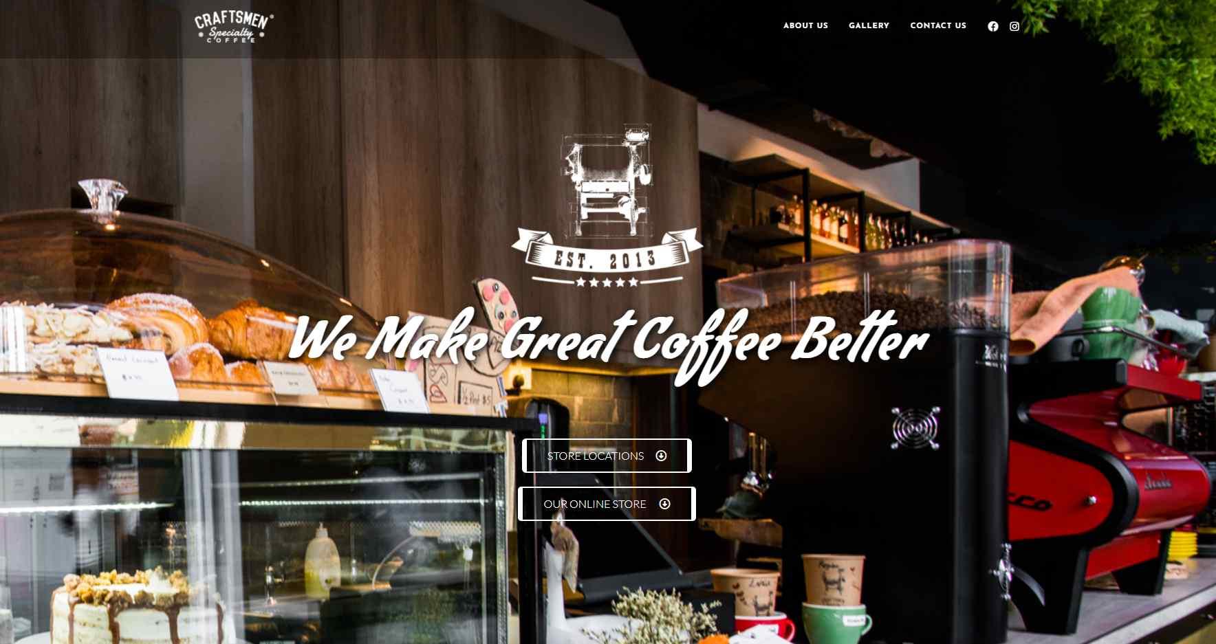 craftsmen Top Brunch Cafes in Singapote
