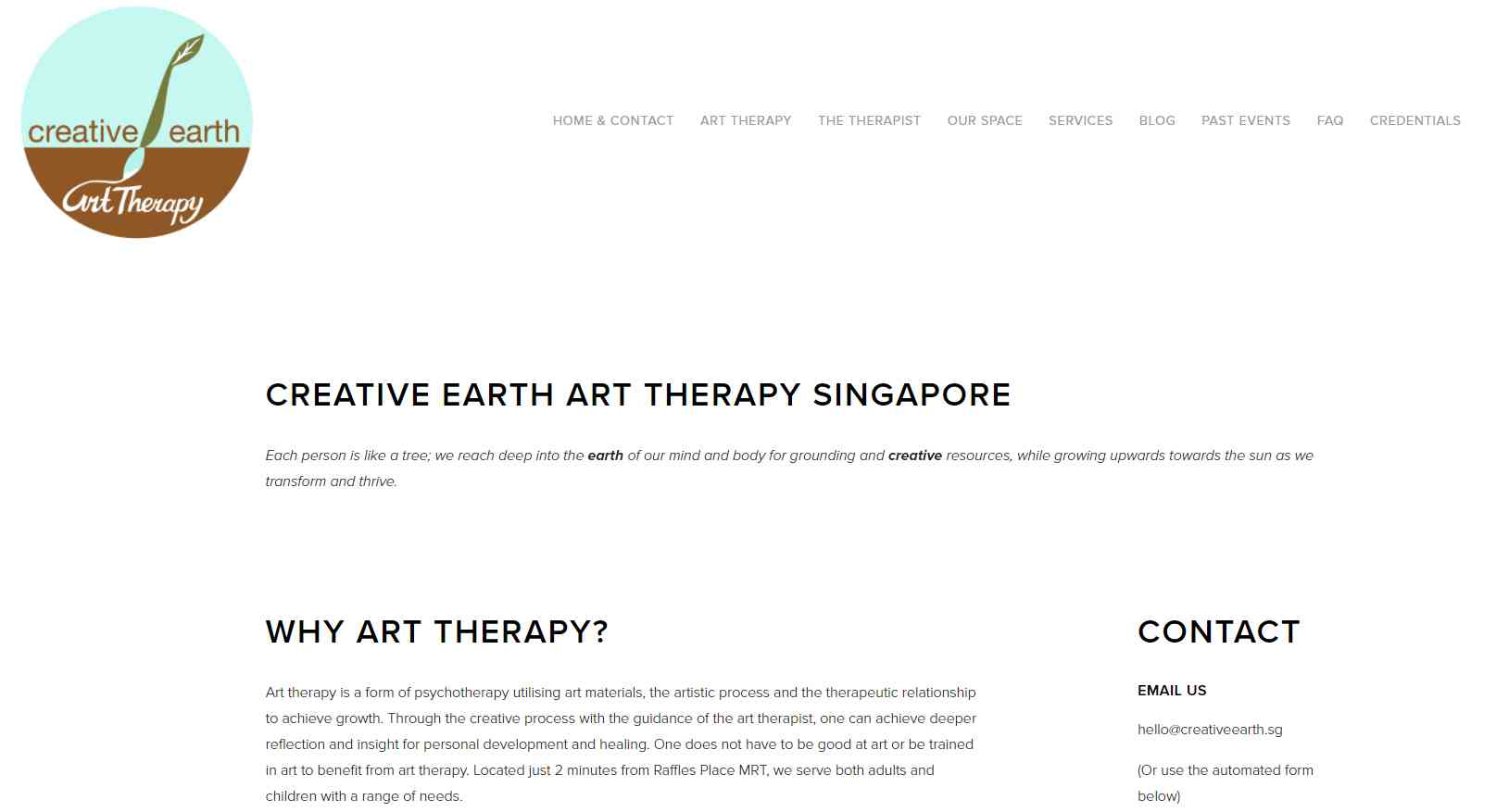 creative earth Top Art Therapy Providers in Singapore